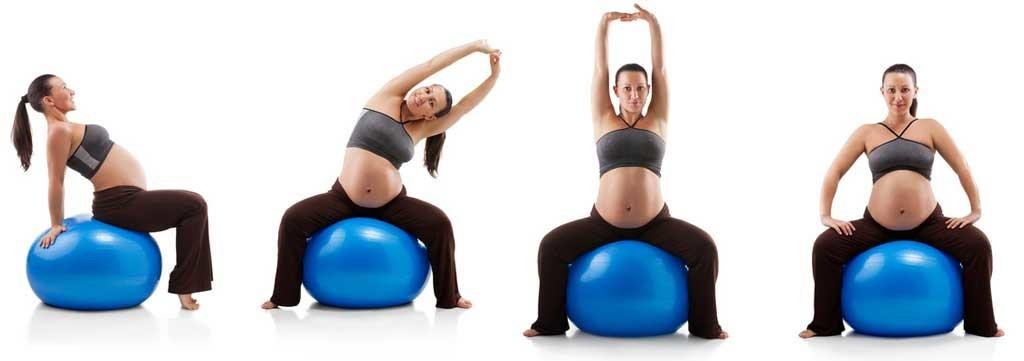 Полезны ли упражнения для беременных на фитболе? 2