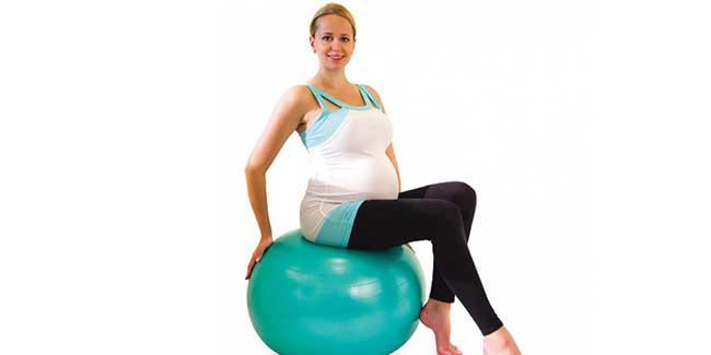 Полезны ли упражнения для беременных на фитболе?