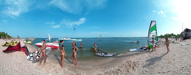 Активный отдых летом: водный спорт