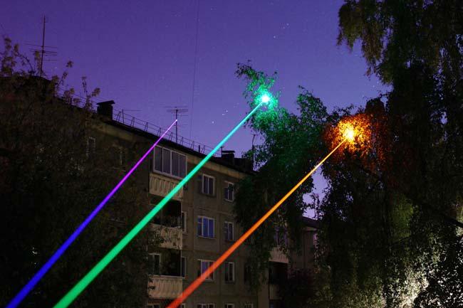 Лазер может сжечь сетчатку глаза 2